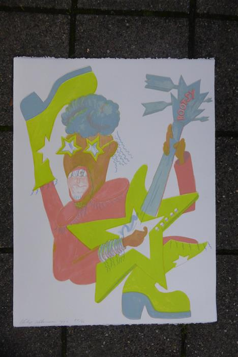 1992 Litho Bootsy Collins