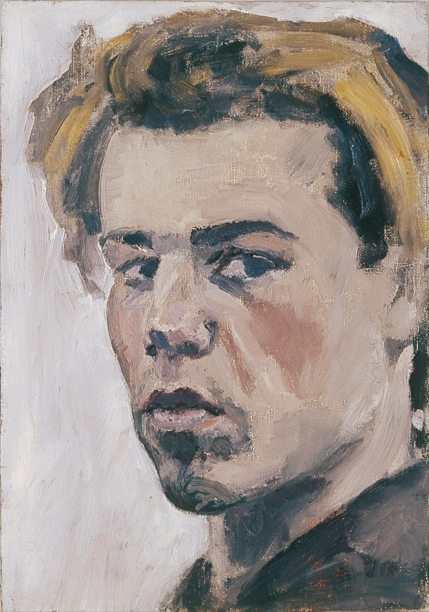 Philip Akkerman - Self-portrait 1981 no.1