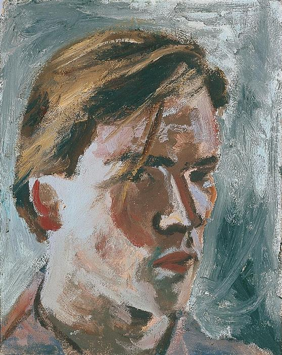 Philip Akkerman - Self-portrait 1982 no.1