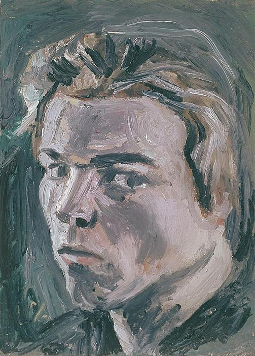 Philip Akkerman - Self-portrait 1982 no.2