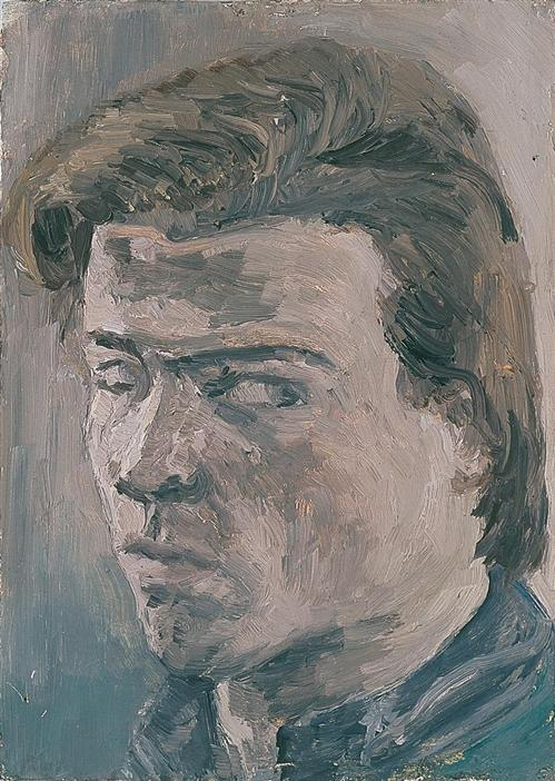 Philip Akkerman - Self-portrait 1982 no.3