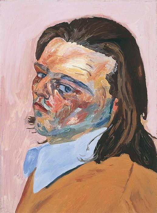 Philip Akkerman - Self-portrait 1983 no.2