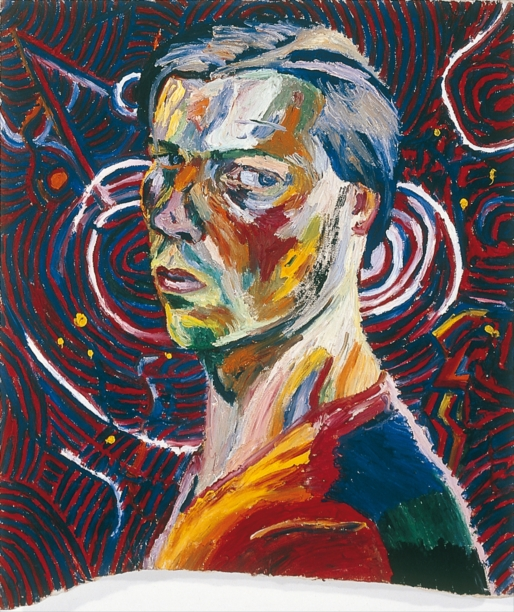 Philip Akkerman - Self-portrait 1983 no.23
