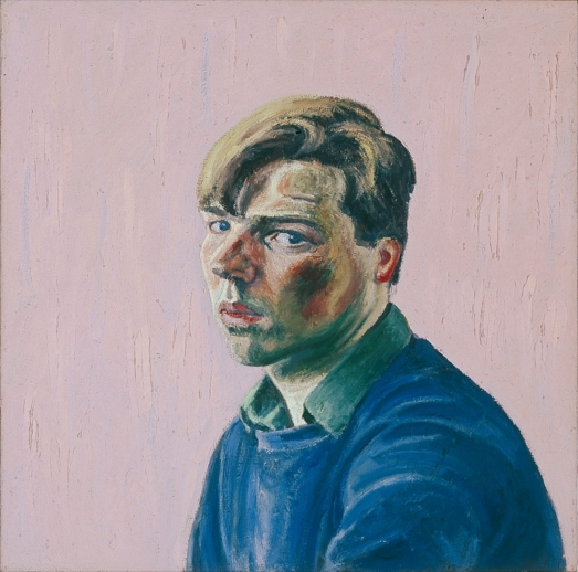 Philip Akkerman - Self-portrait 1984 no.11