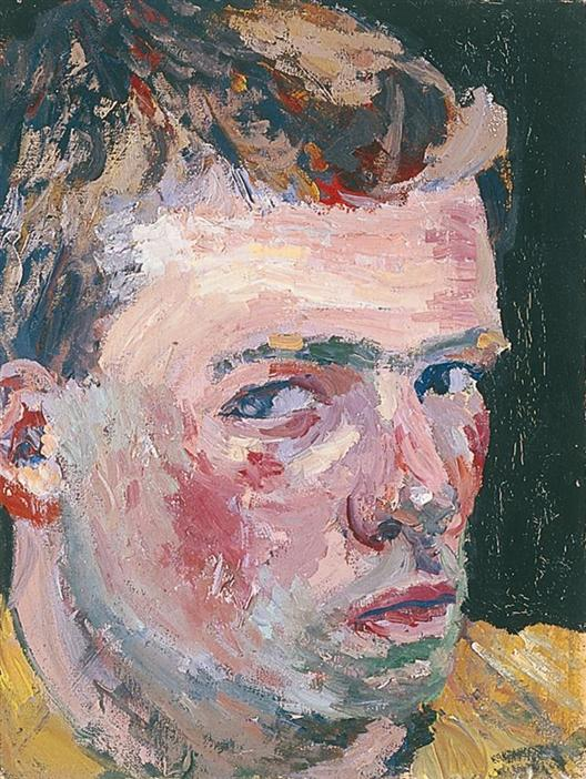 Philip Akkerman - Self-portrait 1984 no.20