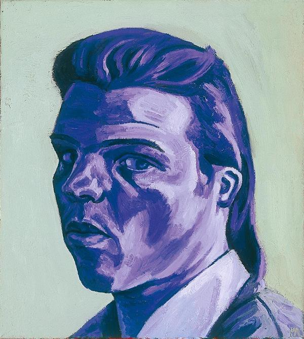 Philip Akkerman - Self-portrait 1985 no.13