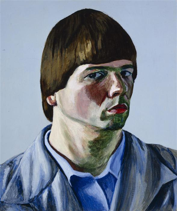 Philip Akkerman - Self-portrait 1986 no.33