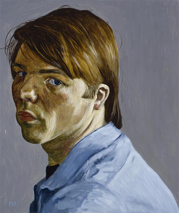 Philip Akkerman - Self-portrait 1987 no.12