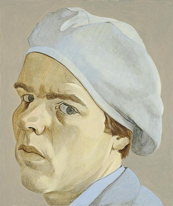 Philip Akkerman - Self-portrait 1987 no.39