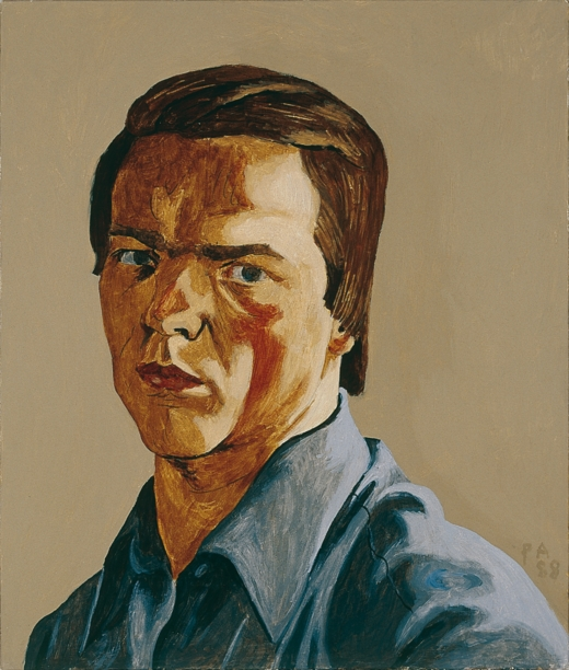 Philip Akkerman - Self-portrait 1988 no.6