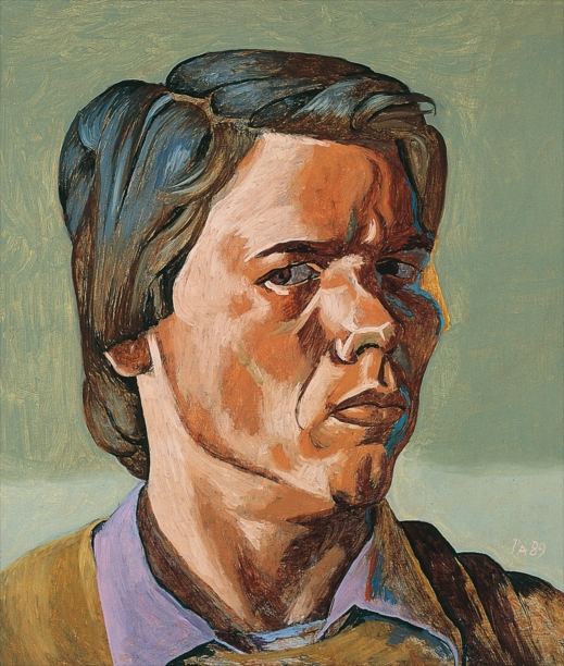 Philip Akkerman - Self-portrait 1989 no.34
