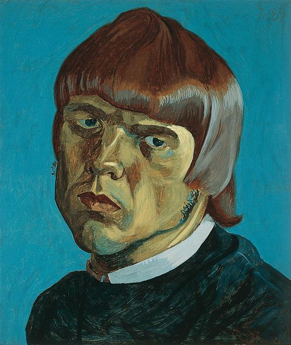 Philip akkerman - self-portrait 1989 no.38