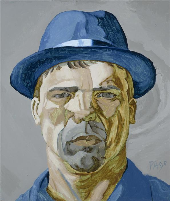 Philip Akkerman - Self-portrait 1990 no.24