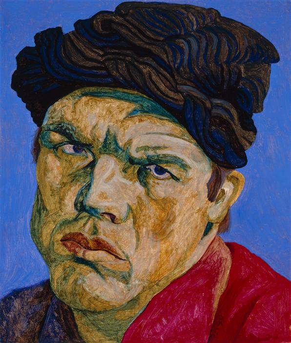 Philip Akkerman - Self-portrait 1990 no.31