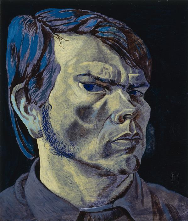 Philip Akkerman - Self-portrait 1991 no.20