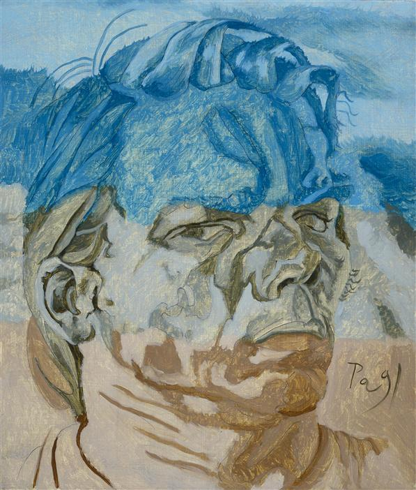 Philip Akkerman - Self-portrait 1991 no.46