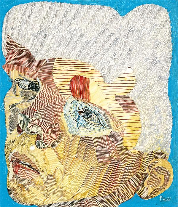 Philip Akkerman - Self-portrait 1991 no.73