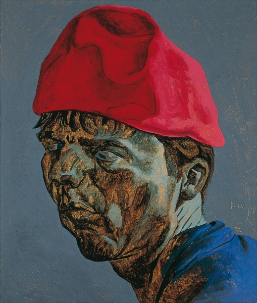 Philip Akkerman - Self-portrait 1991 no.85