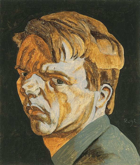 Philip Akkerman - Self-portrait 1992 no.95