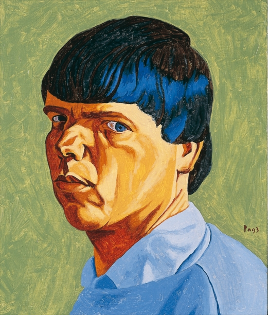 Philip Akkerman - Self-portrait 1993 no.14
