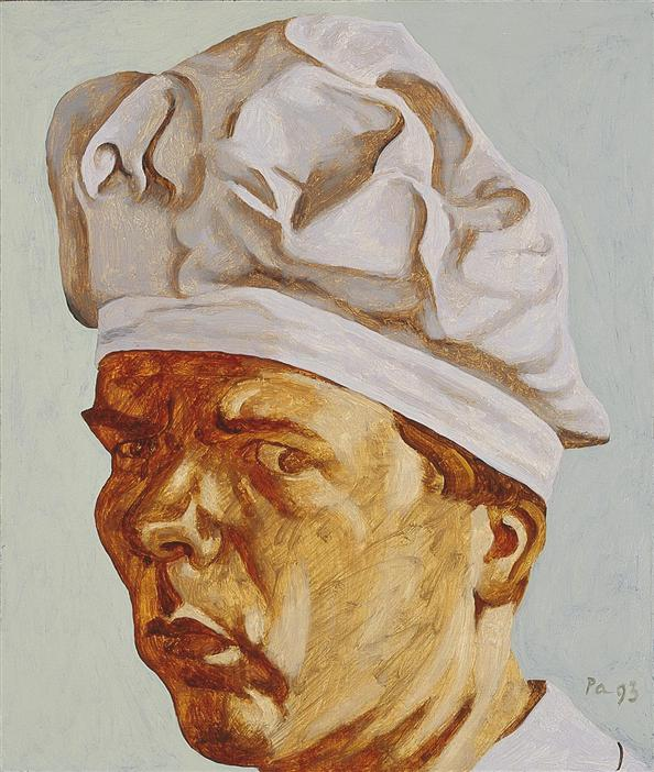Philip Akkerman - Self-portrait 1993 no.55