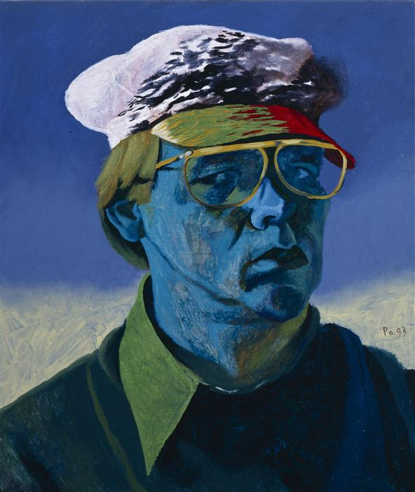 Philip Akkerman - Self-portrait 1993 no.96