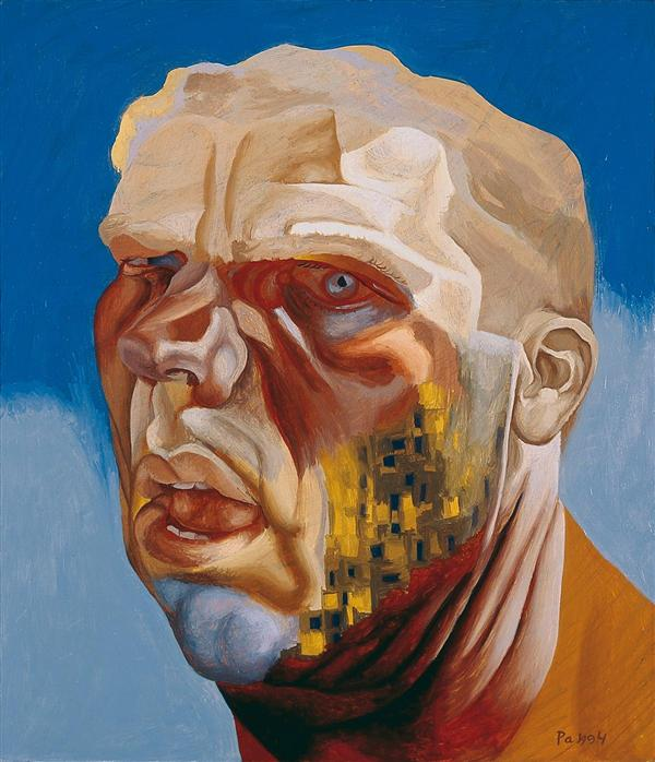 Philip Akkerman - Self-portrait 1994 no.82