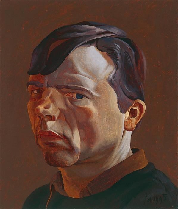 Philip Akkerman - Self-portrait 1995 no.14