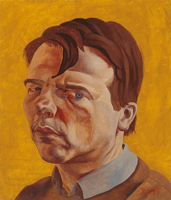Philip Akkerman - Self-portrait 1995 no.21
