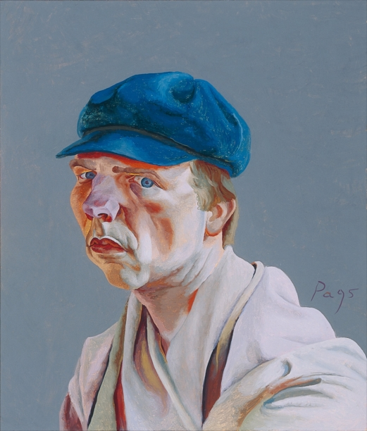 Philip Akkerman - Self-portrait 1995 no.69