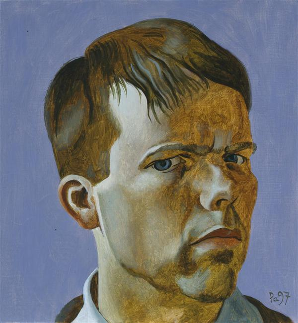 Philip Akkerman - Self-portrait 1997 no.22