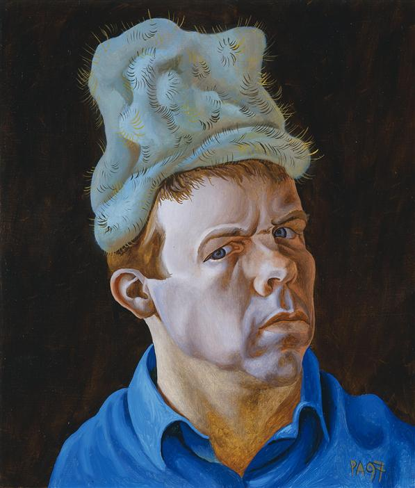 Philip Akkerman - Self-portrait 1997 no.38