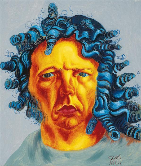 Philip Akkerman - Self-portrait 1999 no.30