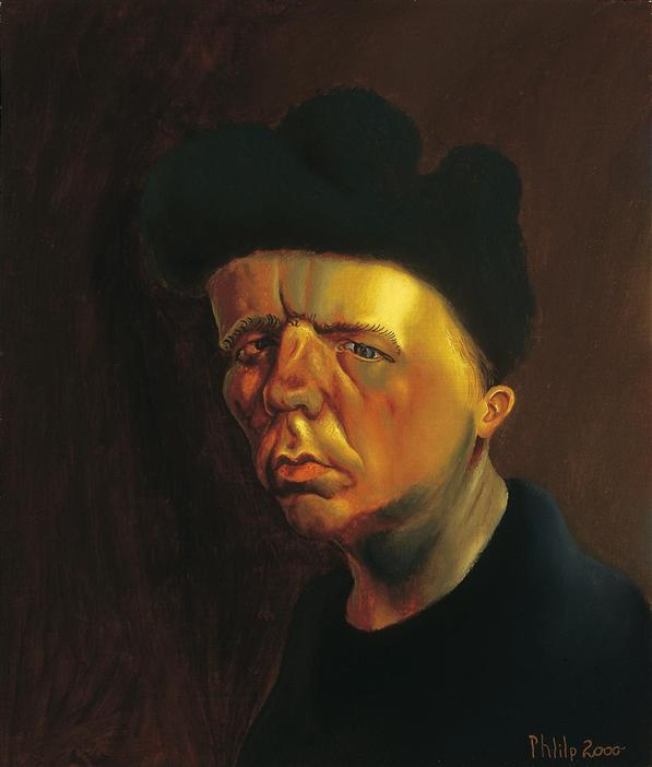 Philip Akkerman - Self-portrait 2000 no.59