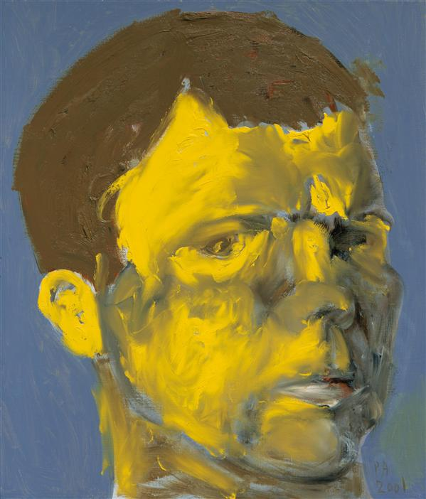 Philip Akkerman - Self-portrait 2001 no.86