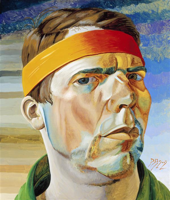 Philip Akkerman - Self-portrait 2002 no.117