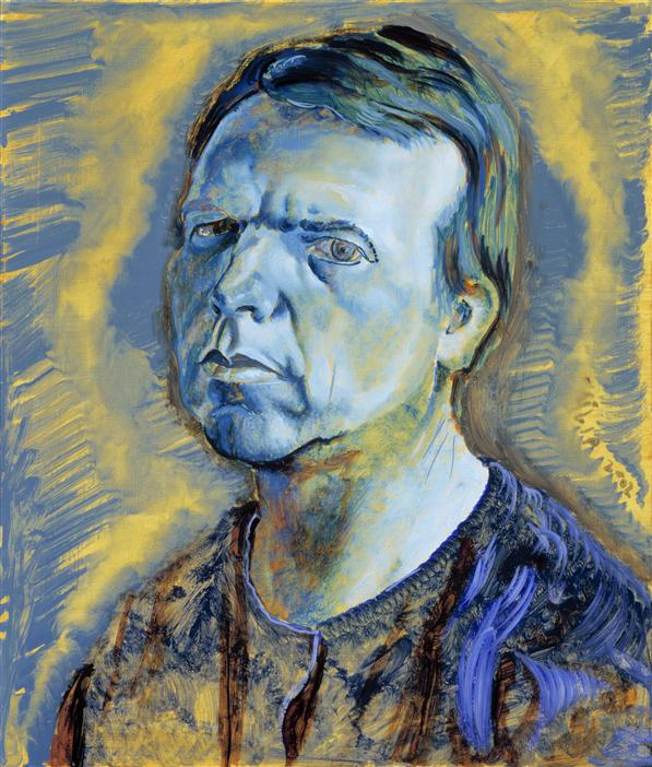Philip Akkerman - Self-portrait 2002 no.75
