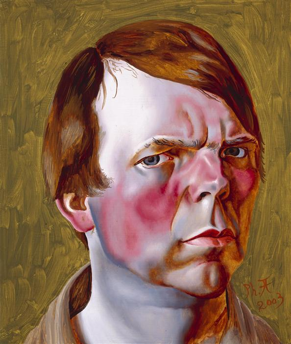 Philip Akkerman - Self-portrait 2003 no.21
