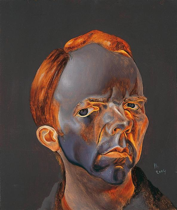 Philip Akkerman - Self-portrait 2004 no.43