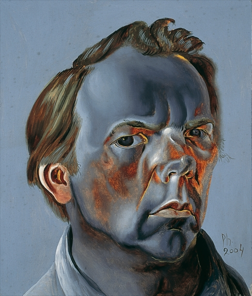 Philip Akkerman - Self-portrait 2004 no.91