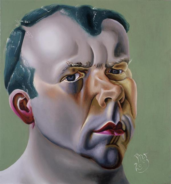 Philip Akkerman - Self-portrait 2005 no.100