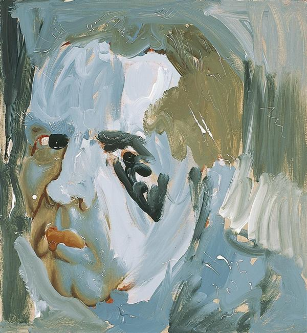 Philip Akkerman - Self-portrait 2005 no.131