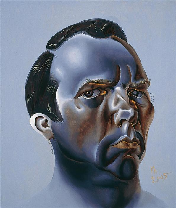Philip Akkerman - Self-portrait 2005 no.21