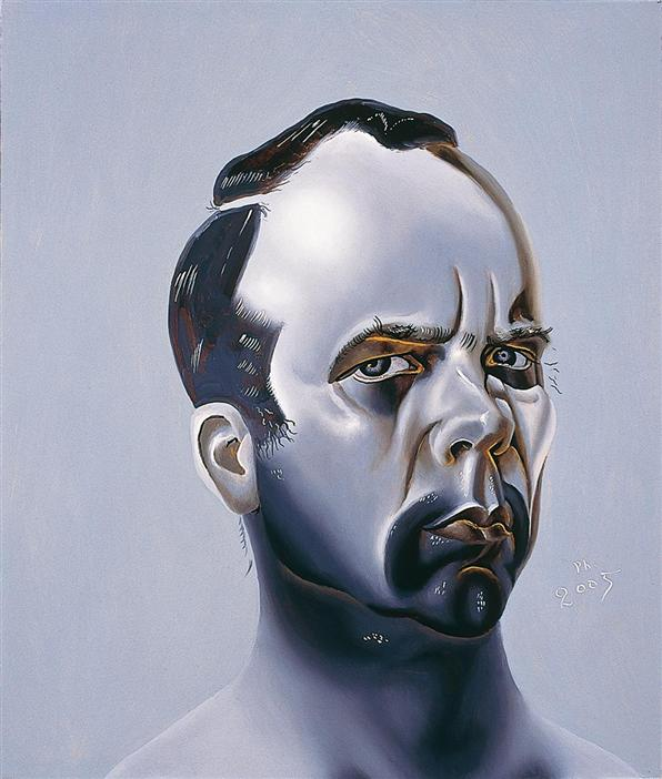 Philip Akkerman - Self-portrait 2005 no.26