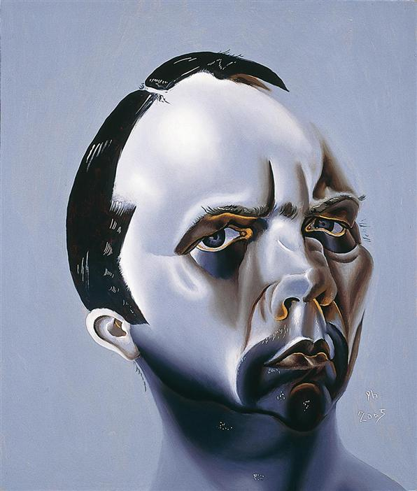 Philip Akkerman - Self-portrait 2005 no.27
