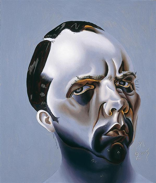 Philip Akkerman - Self-portrait 2005 no.28