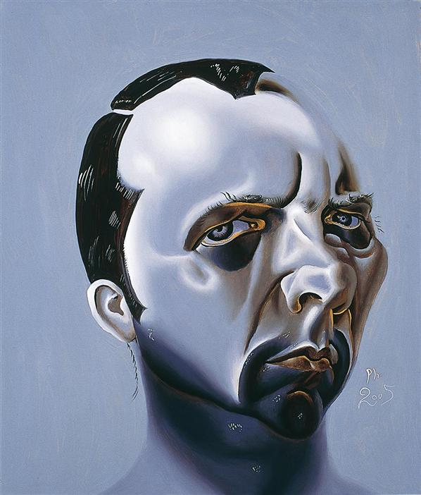 Philip Akkerman - Self-portrait 2005 no.29