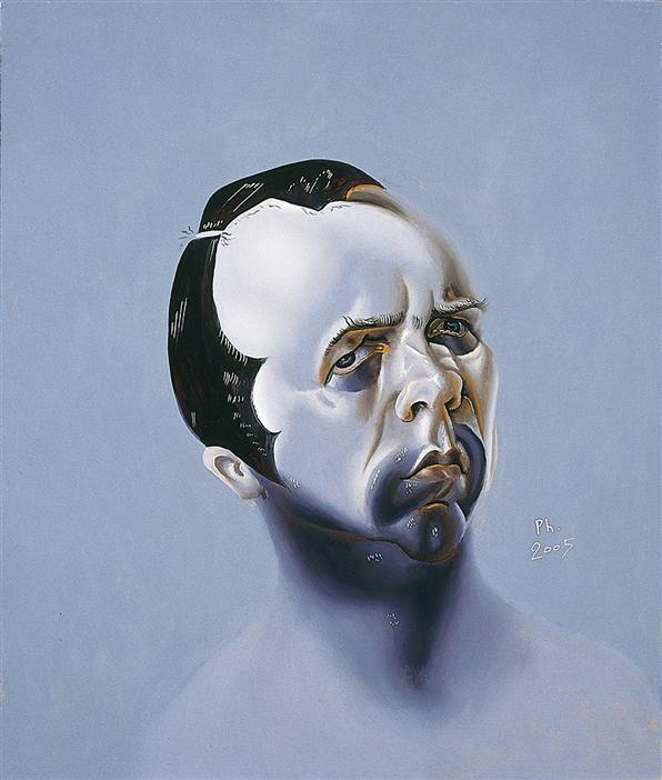 Philip Akkerman - Self-portrait 2005 no.32