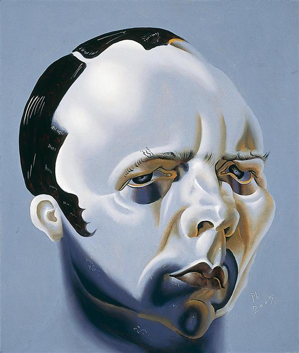 Philip Akkerman - Self-portrait 2005 no.35