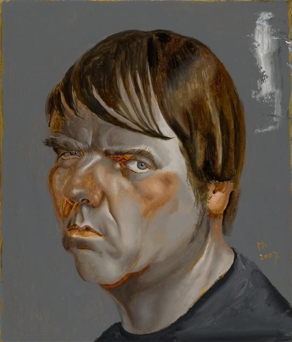 Philip Akkerman - Self-portrait 2007 no.66